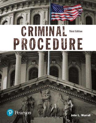 Criminal Procedure (Justice Series) - Worrall, John L.