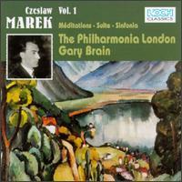 Czeslaw Marek: Orchestral Works, Vol. 1 - Philharmonia Orchestra; Gary Brain (conductor)
