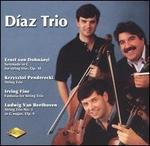 Díaz Trio Performs Dohnányi, Penderecki, Fine, Beethoven