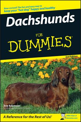 Dachshunds for Dummies - Adamson, Eve, MFA