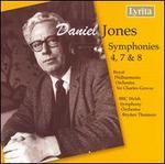 Daniel Jones: Symphonies Nos. 4, 7, 8