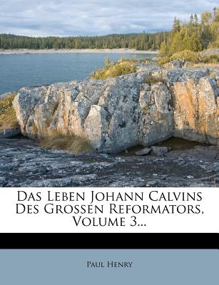 Das Leben Johann Calvins Des Grossen Reformators; - Henry, Paul