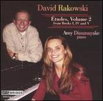 David Rakowski: Études, Vol. 2