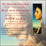 De Falla: Nights in the Gardens of Spain; Rachmaninov: Rhapsody on a Theme of Paganini, Op. 43; Tchaikovsky: Piano Co