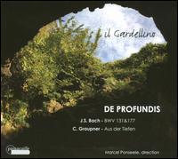 De Profundis - Caroline Weynants (soprano); Damien Guillon (counter tenor); Il Gardellino; Lieven Termont (baritone); Marcus Ullmann (tenor)