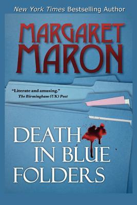 Death in Blue Folders - Maron, Margaret