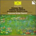 Debussy, Ravel: Streichquartette - David Finckel (cello); Emerson String Quartet; Eugene Drucker (violin); Lawrence Dutton (viola); Philip Setzer (violin)