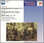 Debussy: String Quartet in G minor; String Quartet in F major; Piano Trio