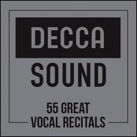 Decca Sound: 55 Great Vocal Recitals - Andreas Scholl (counter tenor); Angela Gheorghiu (soprano); Antonio Pappano (piano); Barbara Bonney (soprano);...