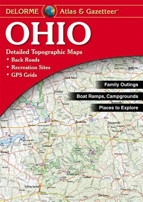 del Atlas Ohio - Delorme Mapping Company