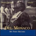 Del Monaco: My First Record
