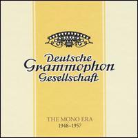 Deutsche Grammophon: The Mono Era 1948-1957 - Adrian Aeschbacher (piano); Adrian Jarovitsky (bass); Adrian Jarovitsky (vocals); Alexander Struve (bass);...