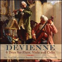 Devienne: 6 Trios for Flute, Viola and Cello - Salvatore Rea (viola); Sara Ligas (flute); Vladimiro Atzeni (cello)