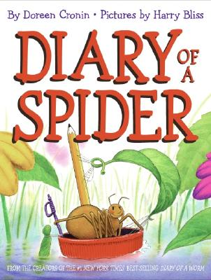 Diary of a Spider - Cronin, Doreen