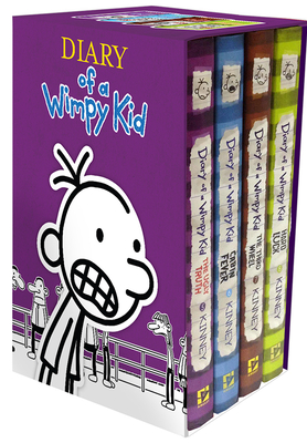 Diary of a Wimpy Kid Box of Books 5-8 - Kinney, Jeff
