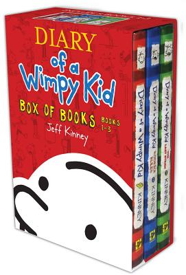 Diary of a Wimpy Kid Box of Books, Books 1-3: Diary of a Wimpy Kid/Rodrick Rules/The Last Straw - Kinney, Jeff