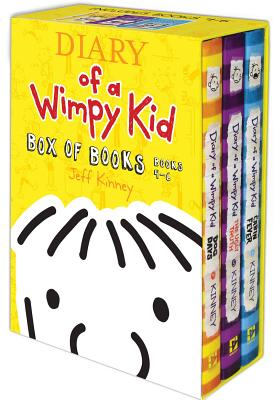 Diary of a Wimpy Kid Box of Books, Books 4-6: Dogs Days/The Ugly Truth/Cabin Fever - Kinney, Jeff