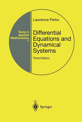 Differential Equations and Dynamical Systems - Perko, Lawrence
