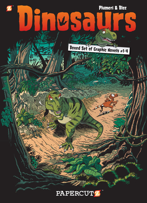 Dinosaurs Graphic Novels Boxed Set: Vol. #1-4 - Plumeri, Arnaud, and Bloz (Artist)