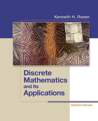 Discrete Mathematics and Its Applications - Rosen, Kenneth