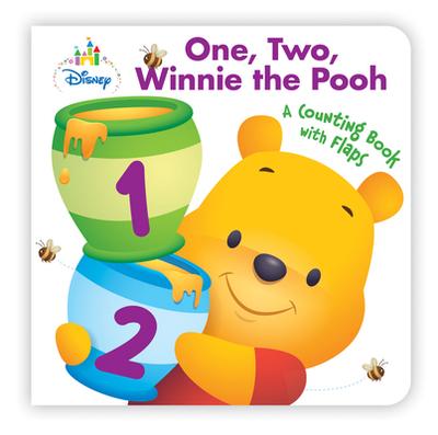 Disney Baby One, Two, Winnie the Pooh - Disney Book Group, and Disney Storybook Art Team (Illustrator)