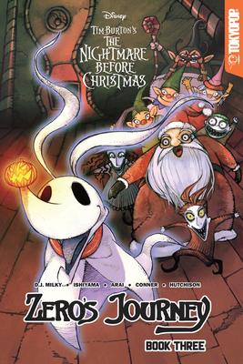 Disney Manga: Tim Burton's the Nightmare Before Christmas - Zero's Journey Graphic Novel Book 3 - Milky, D J, and Ishiyama, Kei, and Hutchinson, David