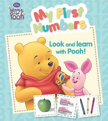 """Disney Padded Board - """"Winnie the Pooh"""": My First Numbers -"""