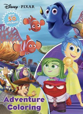 Disney Pixar Adventure Coloring: With 50 Stickers! - Parragon Books Ltd