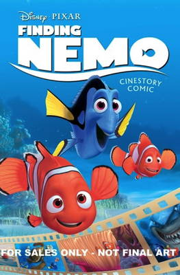 Disney Pixar Finding Nemo Cinestory Comic - Disney Pixar