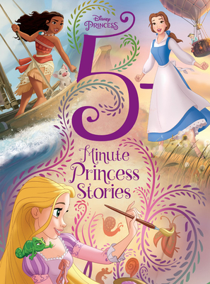 Disney Princess 5-Minute Princess Stories - Disney Books