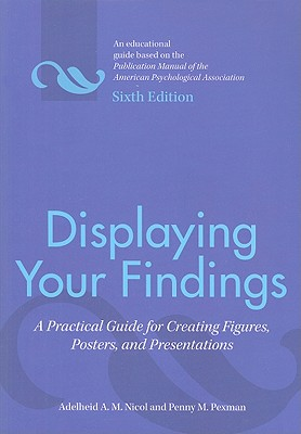 Displaying Your Findings: A Practical Guide for Creating Figures, Posters, and Presentations - Nicol, Adelheid A M, and Pexman, Penny M