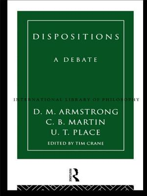 Dispositions: A Debate - Armstrong, D M