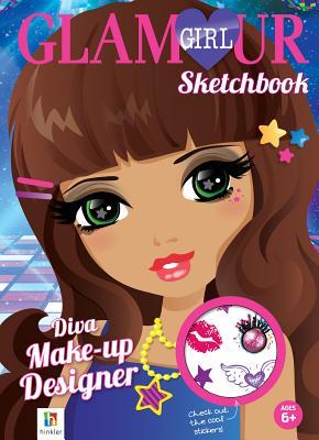 Diva Make-Up Designer Glamour Girl Sketchbook -