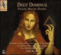Dixit Dominus: Vivaldi, Mozart, Handel - Anthony Roth Costanzo (counter tenor); Furio Zanasi (bass); Hanna Bayodi-Hirt (soprano); La Capella Reial de Catalunya;...