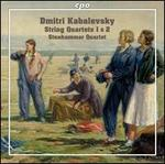 Dmitri Kabalevsky: String Quartets 1 & 2