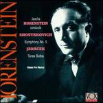 Dmitri Shostakovich: Symphony No. 5; Leos Janacek: Taras Buba