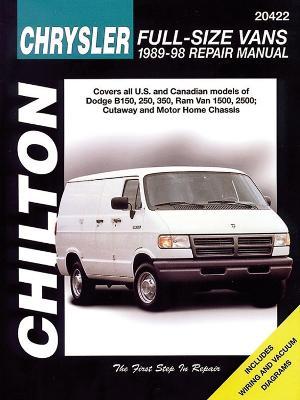Dodge Vans, 1989-98 - Chilton Automotive Books, and The Nichols/Chilton, and Chilton