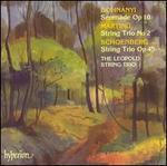 Dohnányi: Serenade, Op. 10; Martinu: String Trio No. 2; Schoenberg: String Trio, Op. 45