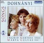 Dohn�nyi: Songs, Complete