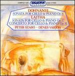 Dohnanyi and Lajtha: Sonatas for Cello and Piano