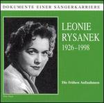 Dokumente Einer S�ngerkarriere: Leonie Rysanek
