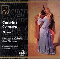 Donizetti: Caterina Cornaro - Anne Edwards (vocals); Enrique Serra (vocals); José Carreras (tenor); Lorenzo Saccomani (vocals); Maurizio Mazzieri (vocals);...