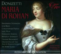 Donizetti: Maria di Rohan - Brindley Sherratt (vocals); Christopher Purves (vocals); Christopher Turner (vocals); Enkelejda Shkosa (vocals);...