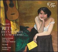 Donizetti: Rita (Deux Hommes et une Femme) - Barry Banks (vocals); Christopher Maltman (vocals); Katarina Karnéus (vocals); Hallé Orchestra; Mark Elder (conductor)