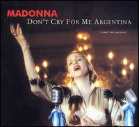 Don't Cry for Me Argentina [US CD Single] - Madonna