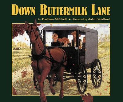 Down Buttermilk Lane - Mitchell, Barbara
