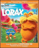 Dr. Seuss' The Lorax [2 Discs] [UltraViolet] [With Minions Movie Cash] [Blu-ray/DVD] - Chris Renaud