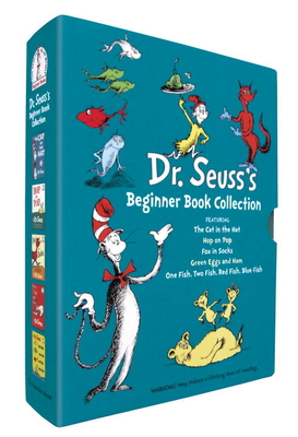 Dr. Seuss's Beginner Book Collection: The Cat in the Hat; One Fish Two Fish Red Fish Blue Fish; Green Eggs and Ham; Hop on Pop; Fox in Socks