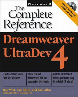 Dreamweaver UltraDev: The Complete Reference - West, Ray