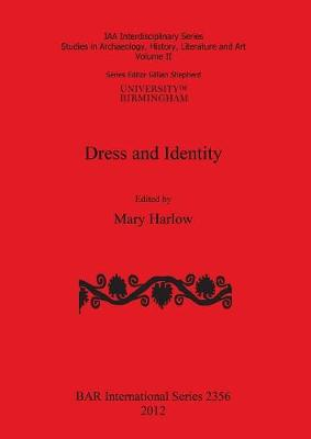 Dress and Identity - Harlow, Mary (Editor)